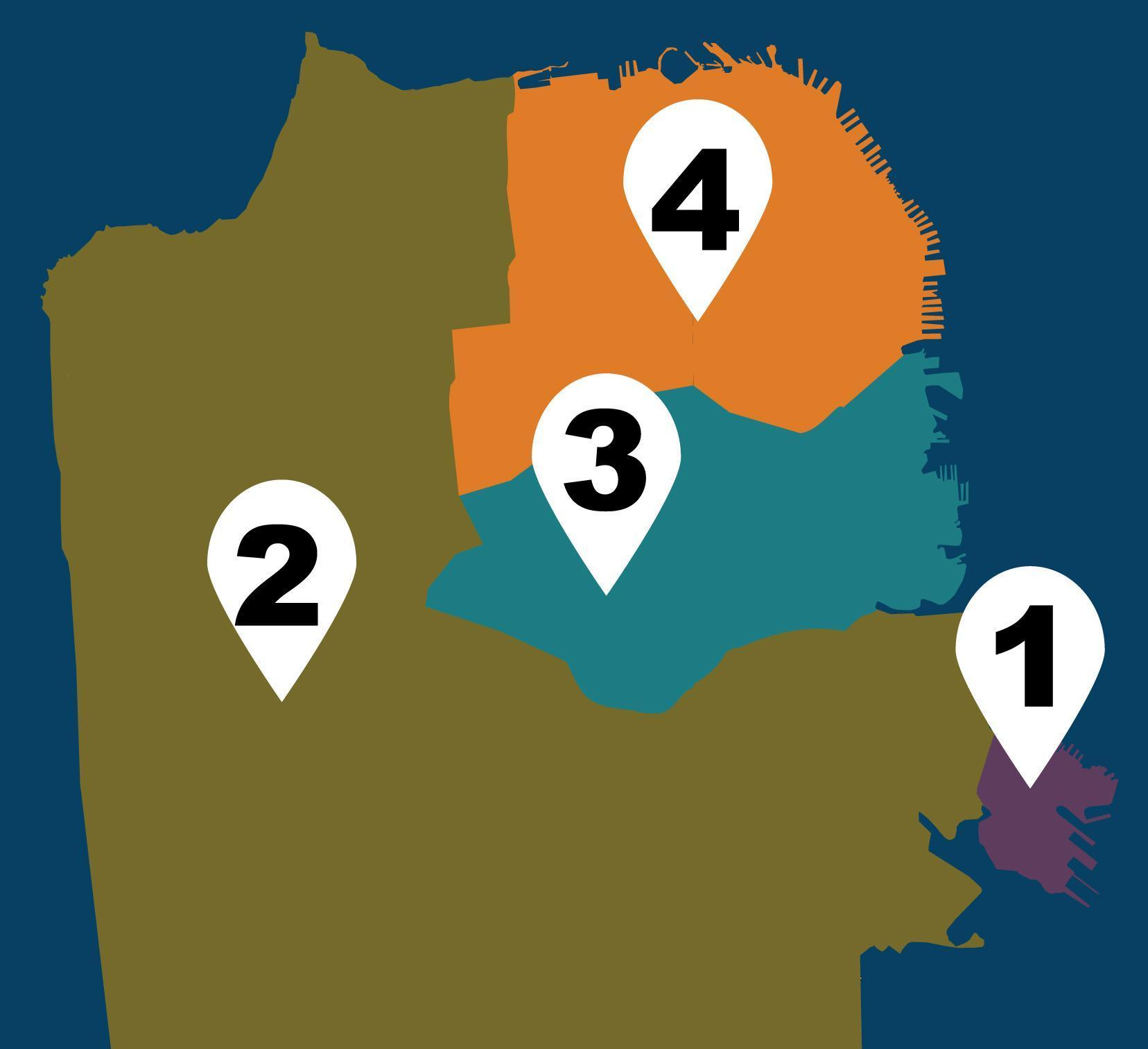 2019 Neighborhood Map