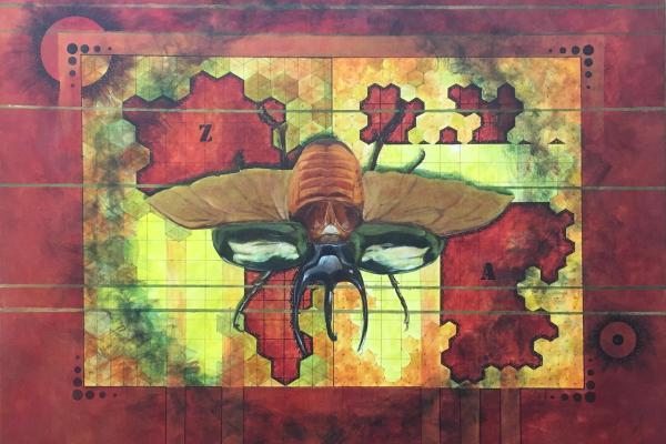 Cartographic Coleoptera by Theresa Giammattei