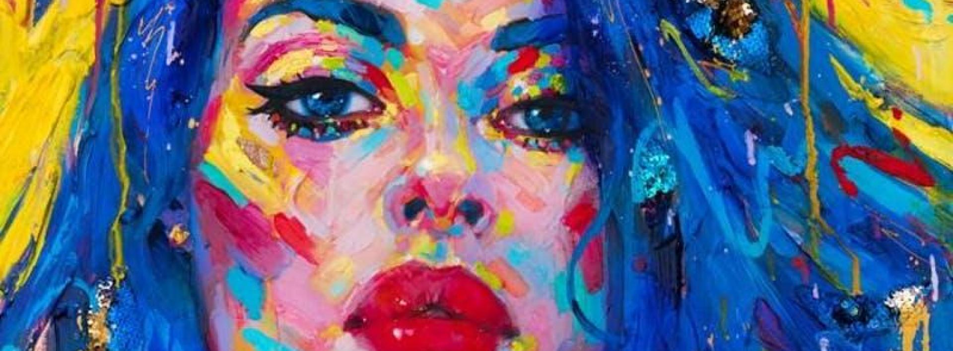 "Featured Artwork by Kate Tova, ""Siniy"""